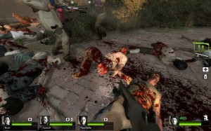 Common infected are even more detailed in Left4Dead 2.