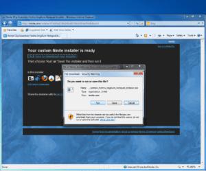 Ninite - Download the installer