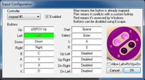 SNES9x - Input Configuration
