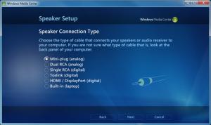 WMC - 07 - Speaker Setup