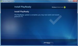 WMC - 19 - Settings_General_WMC Setup_PlayReady Finished