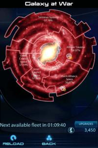 Screenshot of Mass Effect 3 Datapad galactic readiness