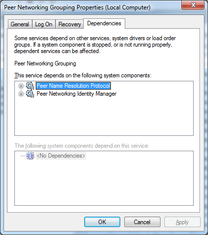 what is homegroup listener service windows 7