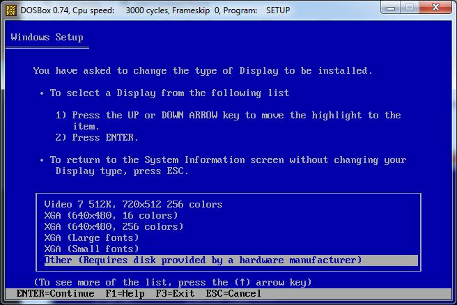 Run Windows 3 1 in DOSBox – JoshMcCarty com