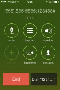 iPhone Conference Call Dialer